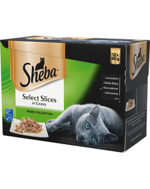 SHEBA Selection in Sauce Mix Smaków 12 x 85g