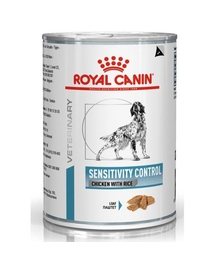 ROYAL CANIN Dog sensitivity control chicken & rice  420 g
