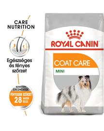 ROYAL CANIN MINI COAT CARE - száraz táp kistestű felnőtt kutyák részére a szebb szőrzetért és az egészséges bőrért 1 kg