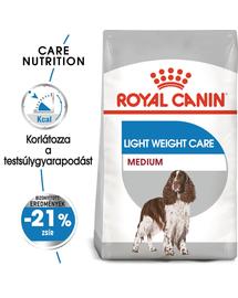 ROYAL CANIN MEDIUM LIGHT WERIGHT CARE - száraz táp hízásra hajlamos, közepes testű felnőtt kutyák részére 9 kg