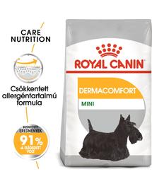 ROYAL CANIN MINI DERMACOMFORT - száraz táp bőrirritációra hajlamos, kistestű felnőtt kutyák részére 8 kg