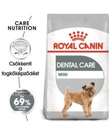 ROYAL CANIN MINI DENTAL CARE - száraz táp felnőtt kistestű kutyák részére a fogkőképződés csökkentéséért 8 kg