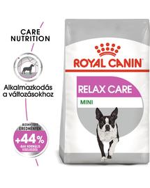 ROYAL CANIN MINI RELAX CARE - száraz táp felnőtt közepes testű kutyák részére segít a változásokhoz történő alkalmazkodásban 10 kg