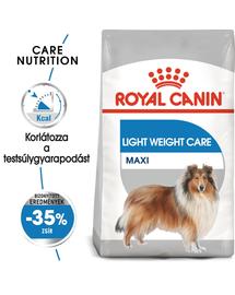 ROYAL CANIN MAXI LIGHT WERIGHT CARE - száraz táp hízásra hajlamos, nagytestű felnőtt kutyák részére 10 kg