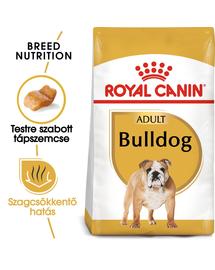 ROYAL CANIN BULLDOG ADULT - Angol Bulldog felnőtt kutya száraz táp 12 kg