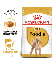 ROYAL CANIN POODLE ADULT - Uszkár felnőtt kutya száraz táp 1,5 kg