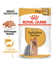 ROYAL CANIN YORKSHIRE TERRIER ADULT - Yorkshire Terrier felnőtt kutya nedves táp 85g x 12