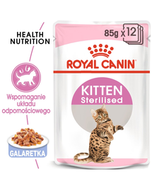 ROYAL CANIN Kitten Sterilised gravy 12 x 85 g